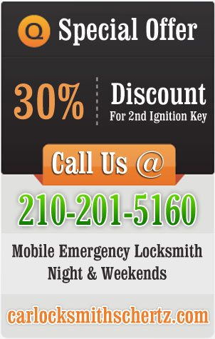 Car Locksmith Schertz Offer